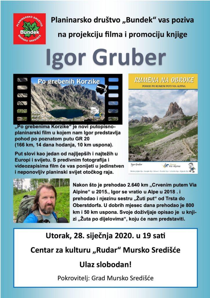 Plakat Igor Gruber